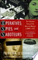 Operatives Spies And Saboteurs