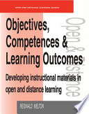 Objectives  Competencies and Learning Outcomes
