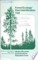 Forest ecology plant identification trail