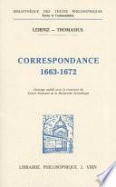 illustration Correspondance, 1663-1672
