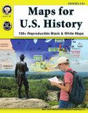 Maps for U.S. History, Grades 5 - 8