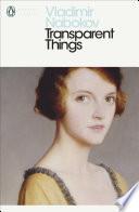 Transparent Things by Vladimir Nabokov