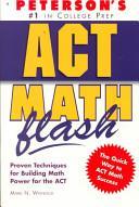 Peterson's ACT Math Flash