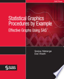 Ebook Statistical Graphics Procedures by Example Epub Sanjay Matange,Dan Heath Apps Read Mobile