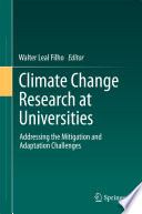 Climate Change Research at Universities