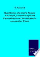 Quantitative Chemische Analyse