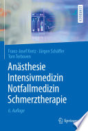 An  sthesie  Intensivmedizin  Notfallmedizin  Schmerztherapie