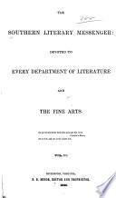 Southern Literary Messenger Book PDF