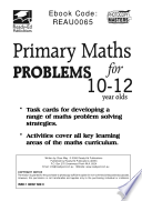 Primary Maths Problems For 10 To 12 Year Olds