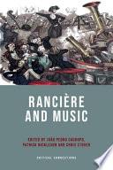 Ranciere and Music Book PDF