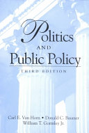 Politics And Public Policy 3rd Edition
