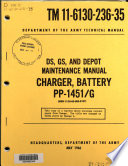 DS, GS, and Depot Maintenance Manual