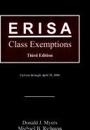 ERISA Class Exemptions