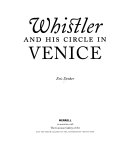 Whistler and his circle in Venice