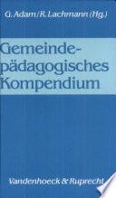 Gemeindepädagogisches Kompendium