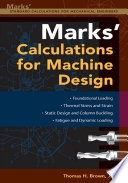 Mark s Calculations For Machine Design