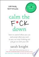 Calm the F ck Down Book PDF