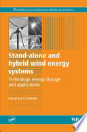 Ebook Stand-Alone and Hybrid Wind Energy Systems Epub J K Kaldellis Apps Read Mobile