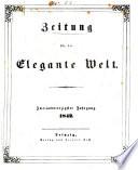 Zeitung für die elegante Welt Berlin