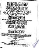 Teutsch-Schwedisches und Schwedisch-Teutsches Wort Lexicon