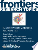 Immune system modeling and analysis