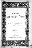 Modern Yorkshire Poets : ...
