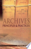 Archives Principles   Practices