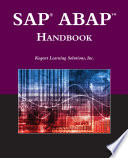 SAP   ABAPTM Handbook