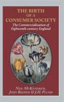 Birth of a Consumer Society