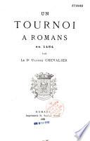 Un Tournoi Romans En 1484