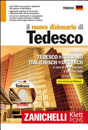 Il nuovo dizionario di tedesco  Dizionario tedesco italiano italiano tedesco  Con CD ROM