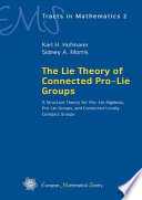 The Lie Theory Of Connected Pro Lie Groups