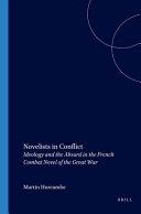 Novelists in Conflict Book