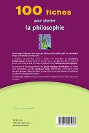 Book 100 fiches pour aborder la philosophie
