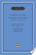 Platonic Theology  Books XII XIV