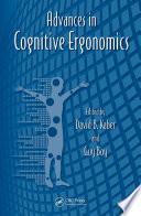 Advances In Cognitive Ergonomics