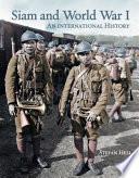 Siam and World War I