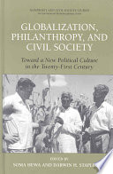 Globalization Philanthropy And Civil Society