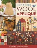 Sweet   Simple Wool Appliqu