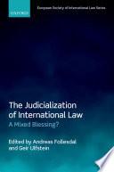 The Judicialization of International Law