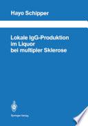 Lokale IgG Produktion im Liquor bei multipler Sklerose
