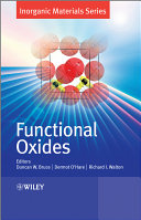 Functional Oxides