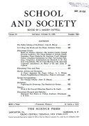 School & Society