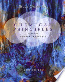 Study Guide for Zumdahl DeCoste s Chemical Principles