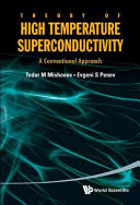 Theory of High Temperature Superconductivity