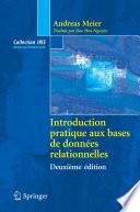 illustration du livre Introduction pratique aux bases de données relationnelles