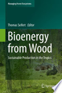 Bioenergy from Wood In Deepening Their Knowledge Of The Sustainable Production
