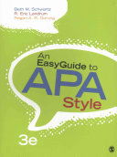 An Easyguide to APA Style   Statlab Online 2 0 Access Code