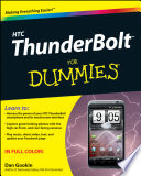 HTC ThunderBolt For Dummies