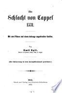 Die Schlacht von Cappel 1531